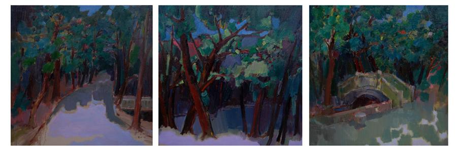 217《清凉地》60x60cmx3 油画.jpg
