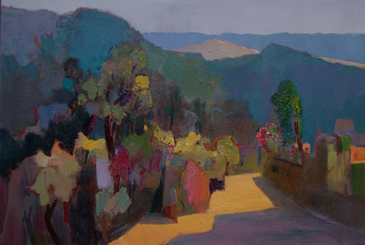 8《秋山2》油画 60x90cm.jpg