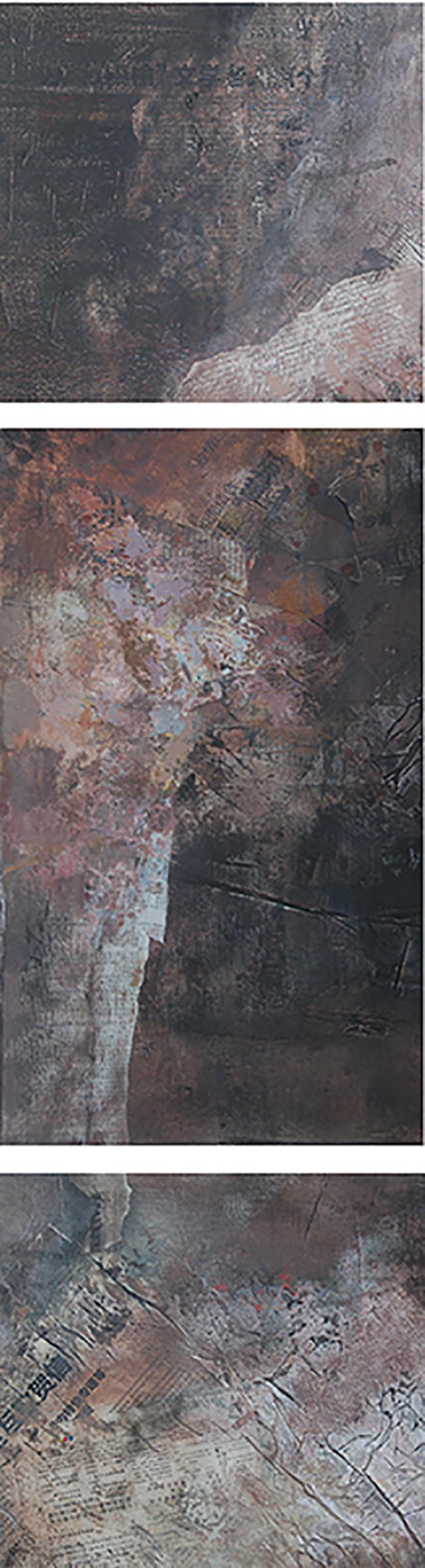 《远域心迹之2》水粉综合材料 45x140cm1.jpg